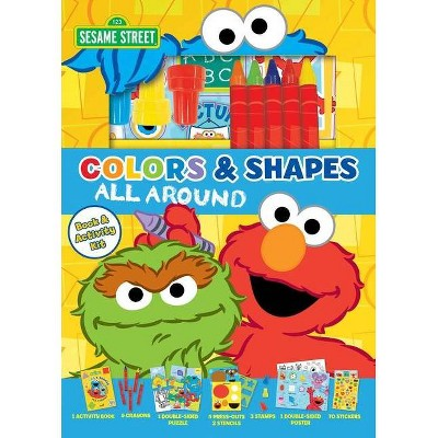 Sesame Street: Colors And Shapes All Around - (Mixed Media Product) : Target