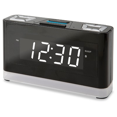 iLive Wireless Voice Activated Alexa Smart Clock - Black (ICWFV428)