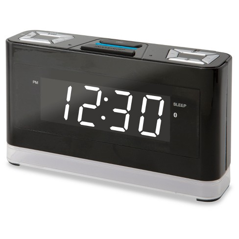 iLive Wireless Voice Activated Alexa Smart Clock - Black (ICWFV428) - image 1 of 4