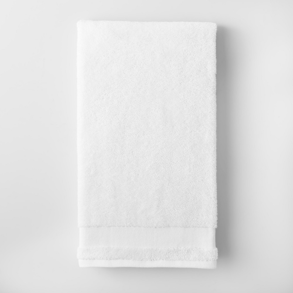 Solid Beach Towel White - Made By Design