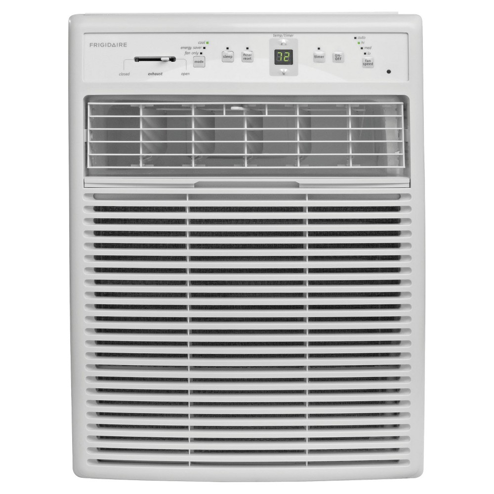 Frigidaire - 10000-Btu 115V Slider/Casement Room Air Conditioner with Full-Function Remote - White