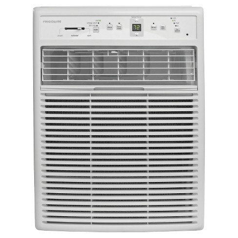 Frigidaire - 10000-BTU 115V Slider/Casement Room Air Conditioner with Full-Function Remote - White - image 1 of 3