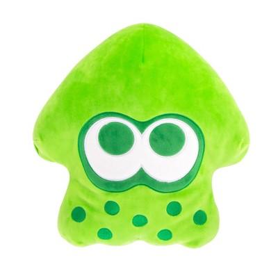 "Club Mocchi Mocchi Nintendo Splatoon 2 15"" Plush - Neon Green Inkling Squid"