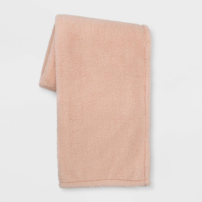 Sherpa Throw Blanket - Room Essentials™ - image 1 of 2