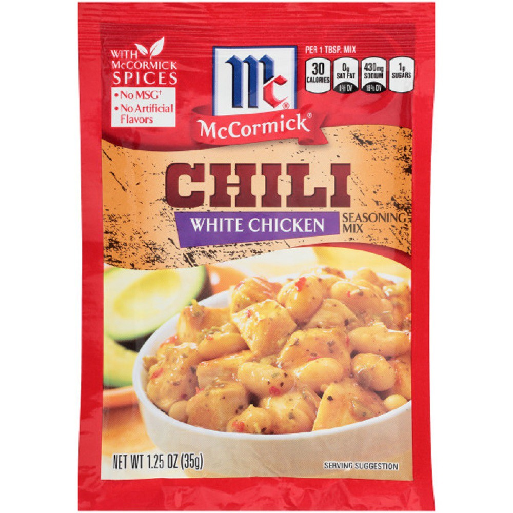 McCormick White Chicken Chili Seasoning Mix 1.25 oz