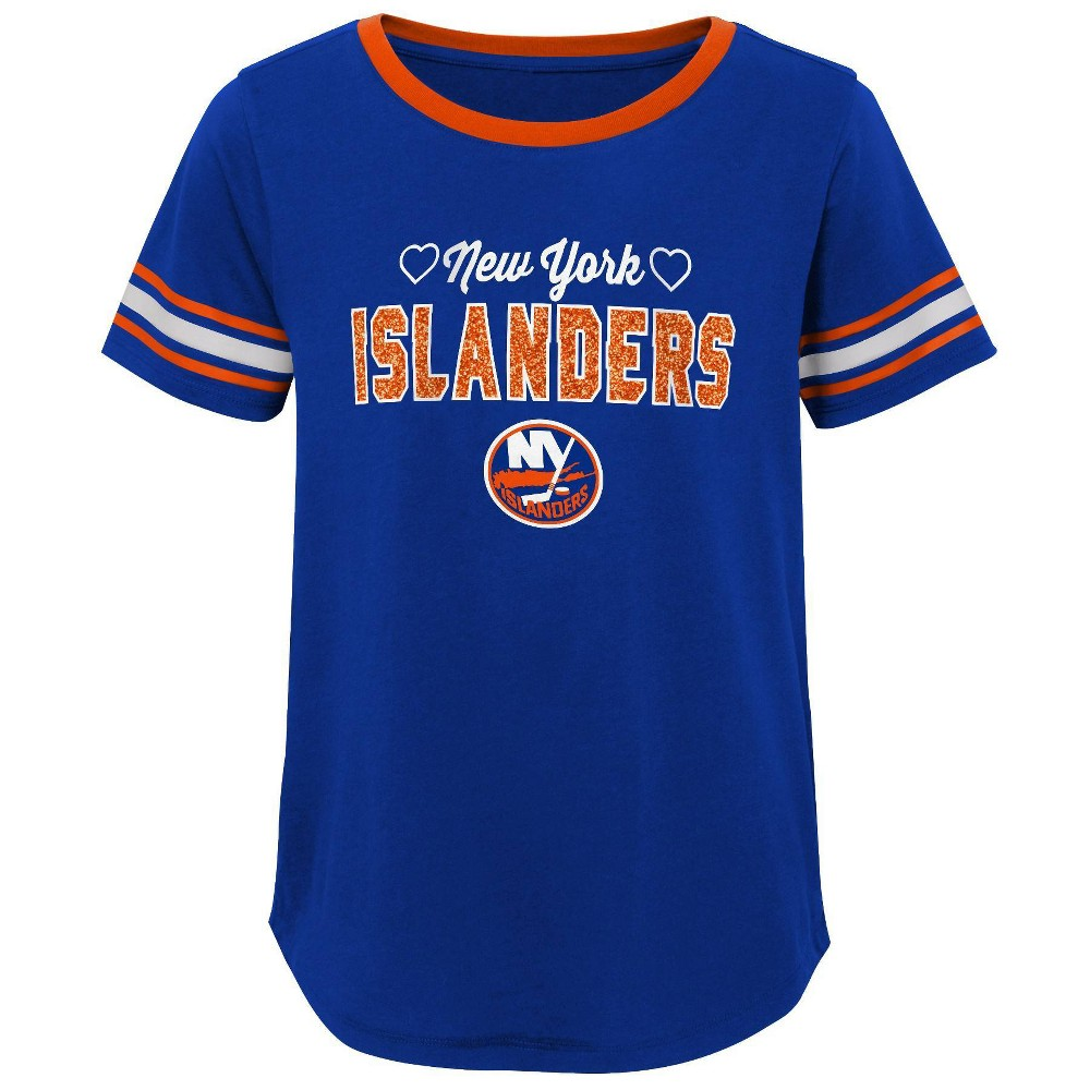 Nhl New York Islanders Girls 39 Netminder Fashion T Shirt Xs