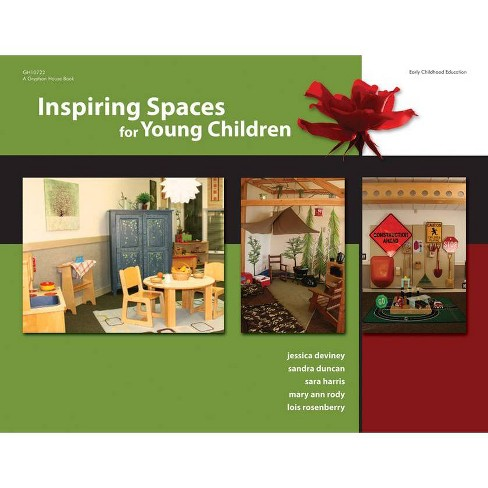 Inspiring Spaces for Young Children - (Paperback) - image 1 of 1