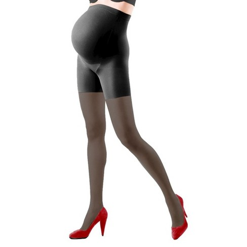 Assets by Spanx Maternity Perfect Pantyhose - Nude - image 1 of 2