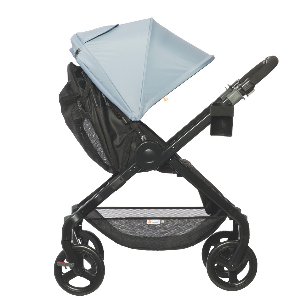 Image of Ergobaby 180 Reversible Stroller - Misty Blue