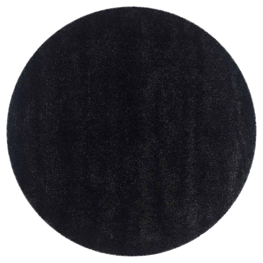 Quincy Rug - Black (6'7 Round) - Safavieh