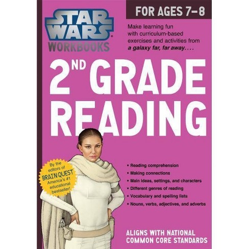 2nd Grade Reading - (Star Wars Workbook) by  Workman Publishing (Paperback) - image 1 of 1