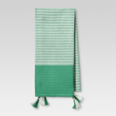 Mint Stripe Kitchen Towel - Threshold™ - image 1 of 1