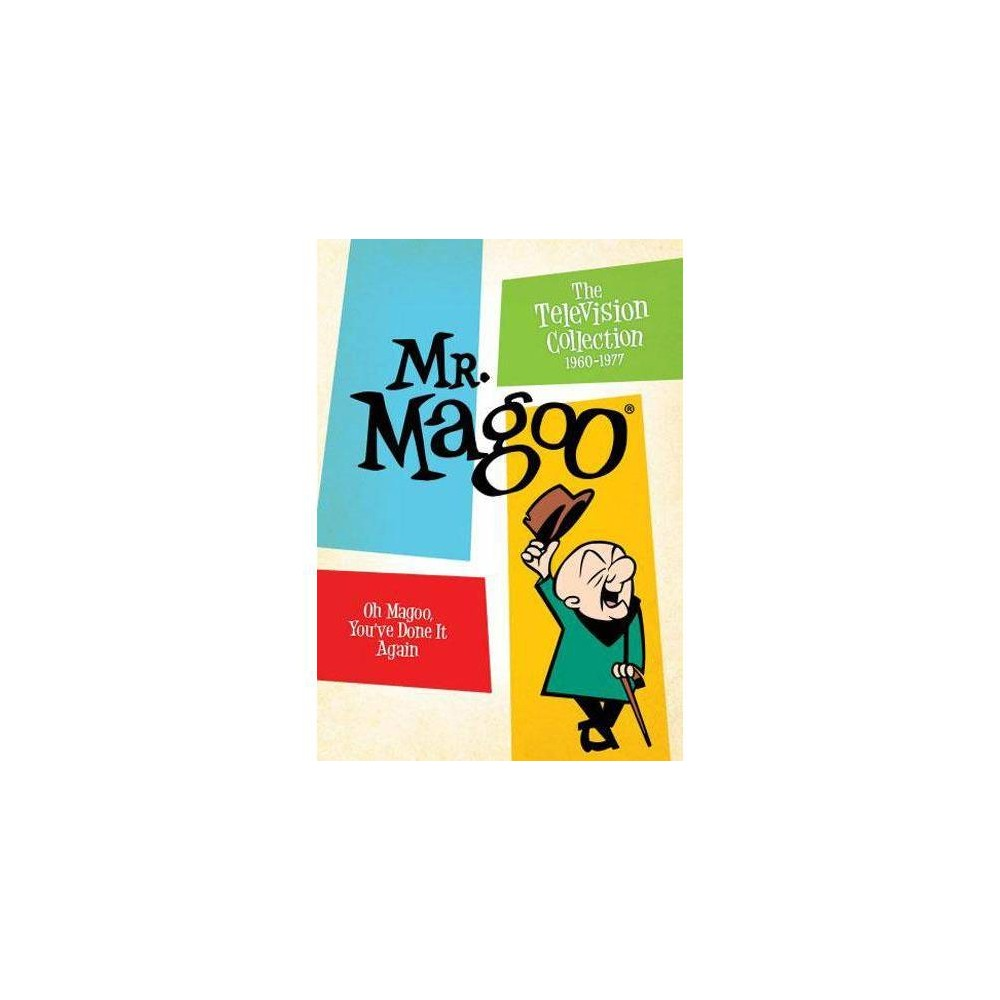 Mr Magoo The Television Collection 1960 1977 Dvd 2011