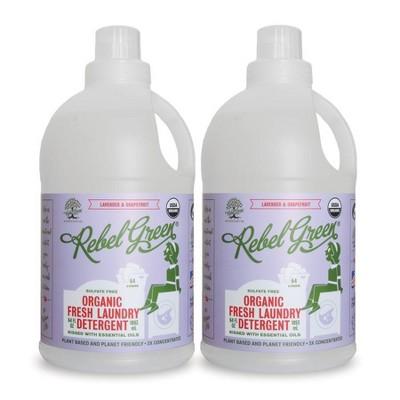 Rebel Green Lavender & Grapefruit Laundry Detergent - 64oz/2ct