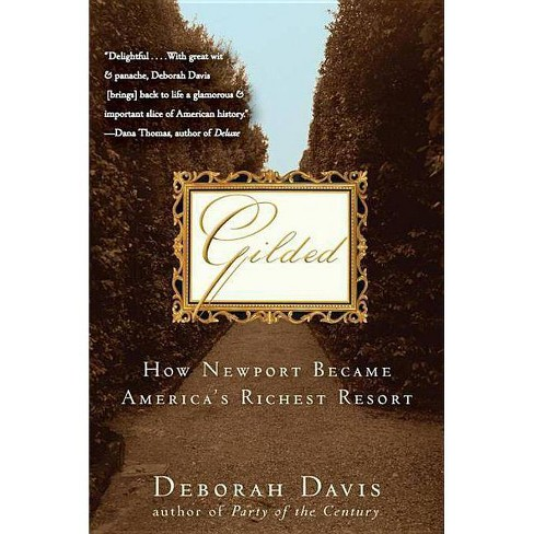 Gilded - by  Deborah Davis (Paperback) - image 1 of 1