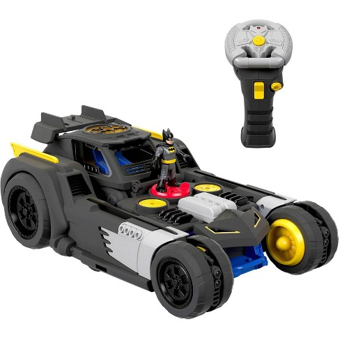 Fisher-Price Imaginext DC Super Friends Transforming Batmobile RC Vehicle - image 1 of 4