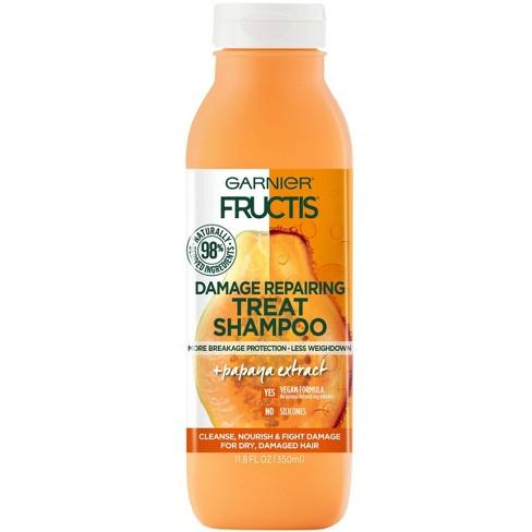 Garnier Fructis Papaya Damage Repairing Treat Shampoo - 11.8 fl oz - image 1 of 4