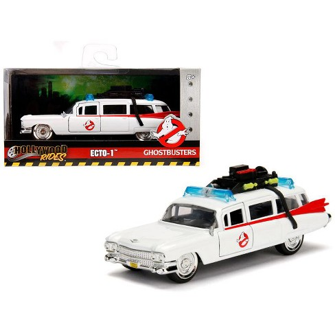 """1959 Cadillac Ambulance Ecto-1 from """"Ghostbusters"""" Movie """"Hollywood Rides"""" Series 1/32 Diecast Model Car by Jada - image 1 of 4"""