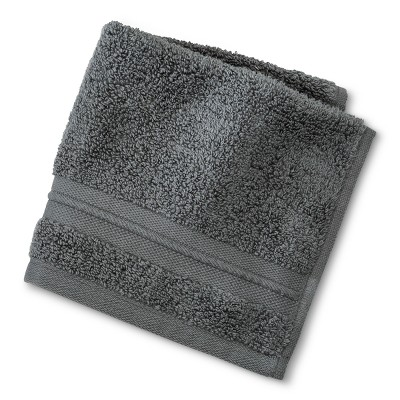 Spa Solid Washcloth Molten Lead - Fieldcrest®