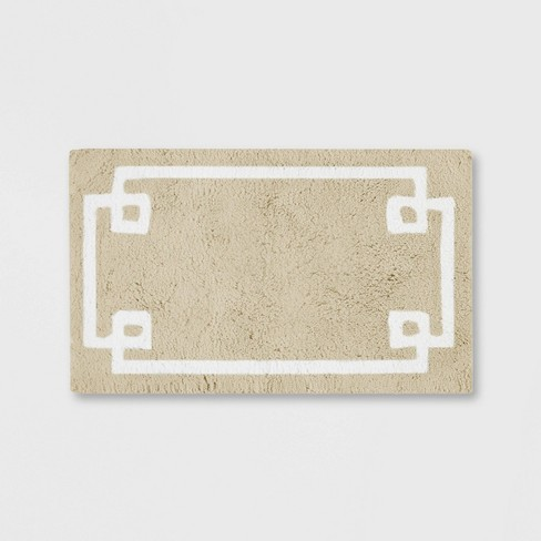Geometric Cotton Tufted Rug - image 1 of 7