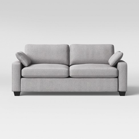 Barnstable Pillow Arm Transitional Sofa Gray - Threshold™ - image 1 of 6