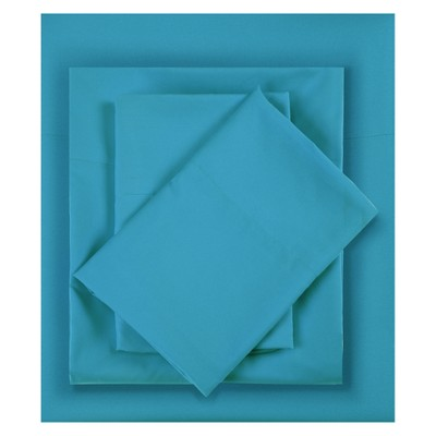 King Microfiber All Season Wrinkle-Free Sheet Set Teal