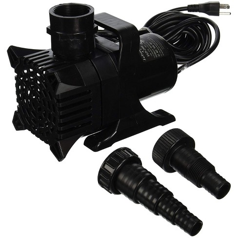 Algreen 91202 MaxFlo 9000 Versatile Home Garden Powerful 2,500 GPH Underwater Fish-Friendly Pond/Waterfall Pump - image 1 of 1