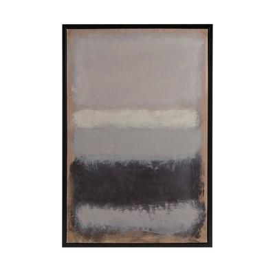 Stratus Framed Canvas with Gel Coat - Martha Stewart