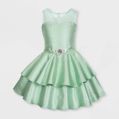 Girls' Disney Tiana Fancy Dress - Green - Disney Store