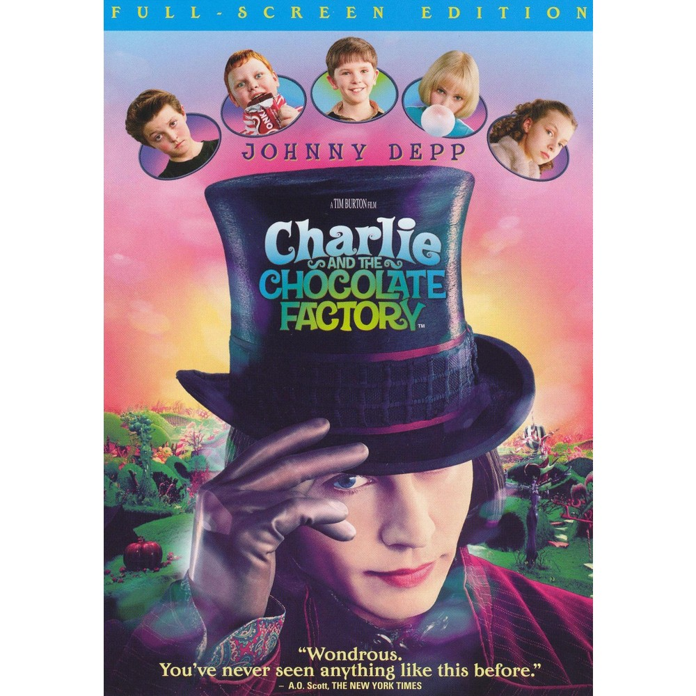 Charlie and the Chocolate Factory (P&s) (dvd_video)