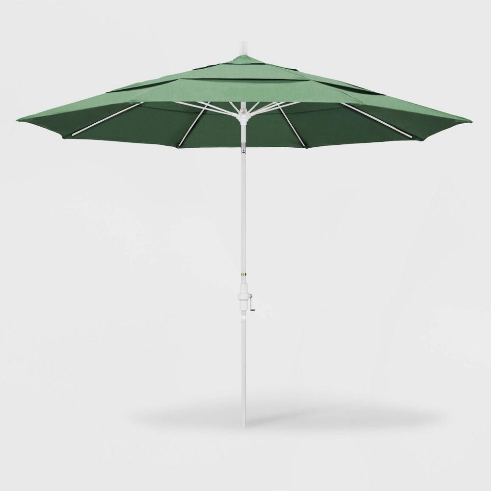 11' Sun Master Patio Umbrella Collar Tilt Crank Lift - Pacifica Spa - California Umbrella