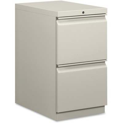 Basyx Mobile Pedestal File File/File 15 x 20 x 28 Gray HBMP2FQ