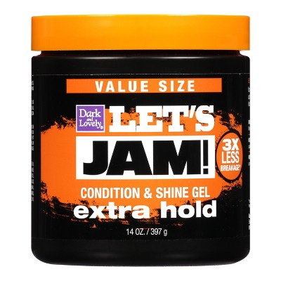 Let's Jam! Conditioning & Shine Extra Hold Styling Hair Gel - 14oz