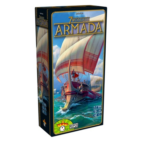 7 Wonders: Armada Expansion Board Game - image 1 of 4