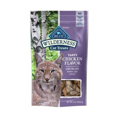 Blue Buffalo Wilderness Grain Free Chicken Flavor Crunchy Cat Treats