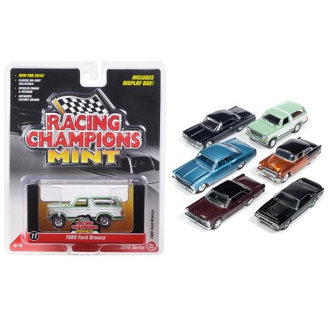 Mint Release 2 Set D Set of 6 cars 1/64 Diecast Model Cars by Racing Champions - image 1 of 1