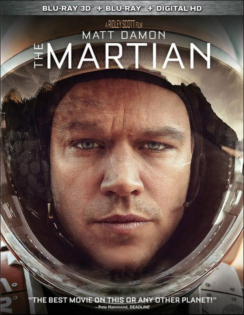 The Martian (3D Blu-ray/Blu-ray/Digital) - image 1 of 1