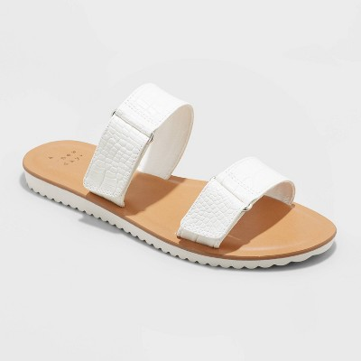 Women's Illiana Two Band Velcro Sandals - A New Day™