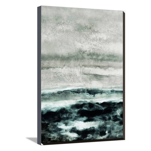 Abstract Waterscape by Iris Lehnhardt Stretched Canvas Print - Art.com - image 1 of 4