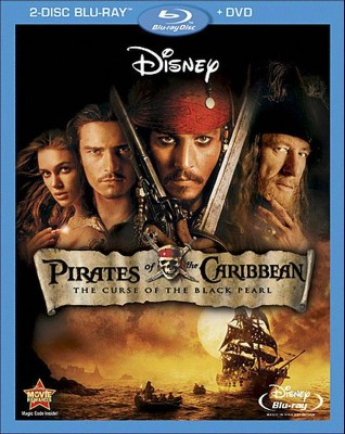 Pirates of the Caribbean: The Curse of Black Pearl (3 Discs)(Blu-ray/DVD)