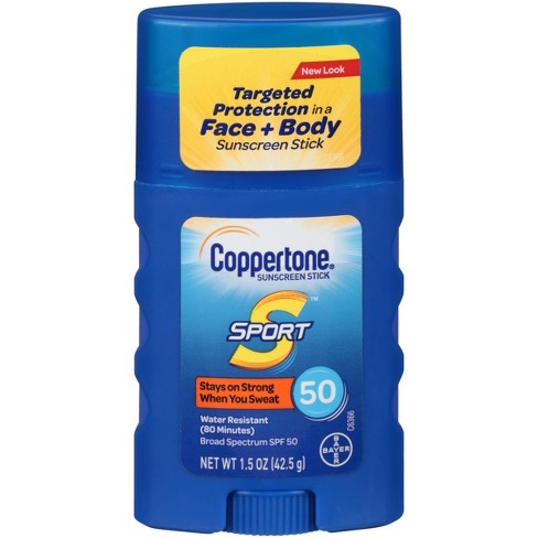 Coppertone Sport  Sunscreen Stick - SPF 50 - 1.5oz - image 1 of 1