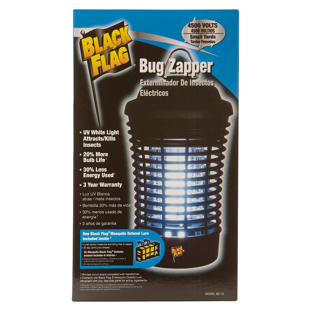 Image of Black Flag Insect Killer, Electronic Pest Control