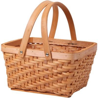 Vintiquewise Rectangular Chip Picnic Basket