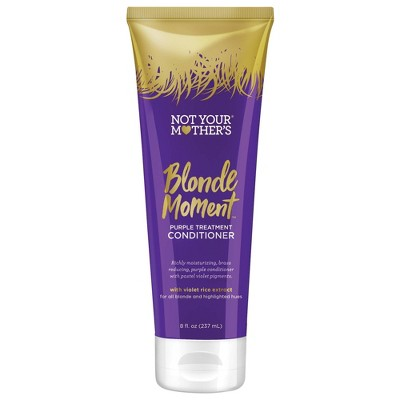 Not Your Mother's Blonde Moment Purple Treatment Conditioner - 8 fl oz