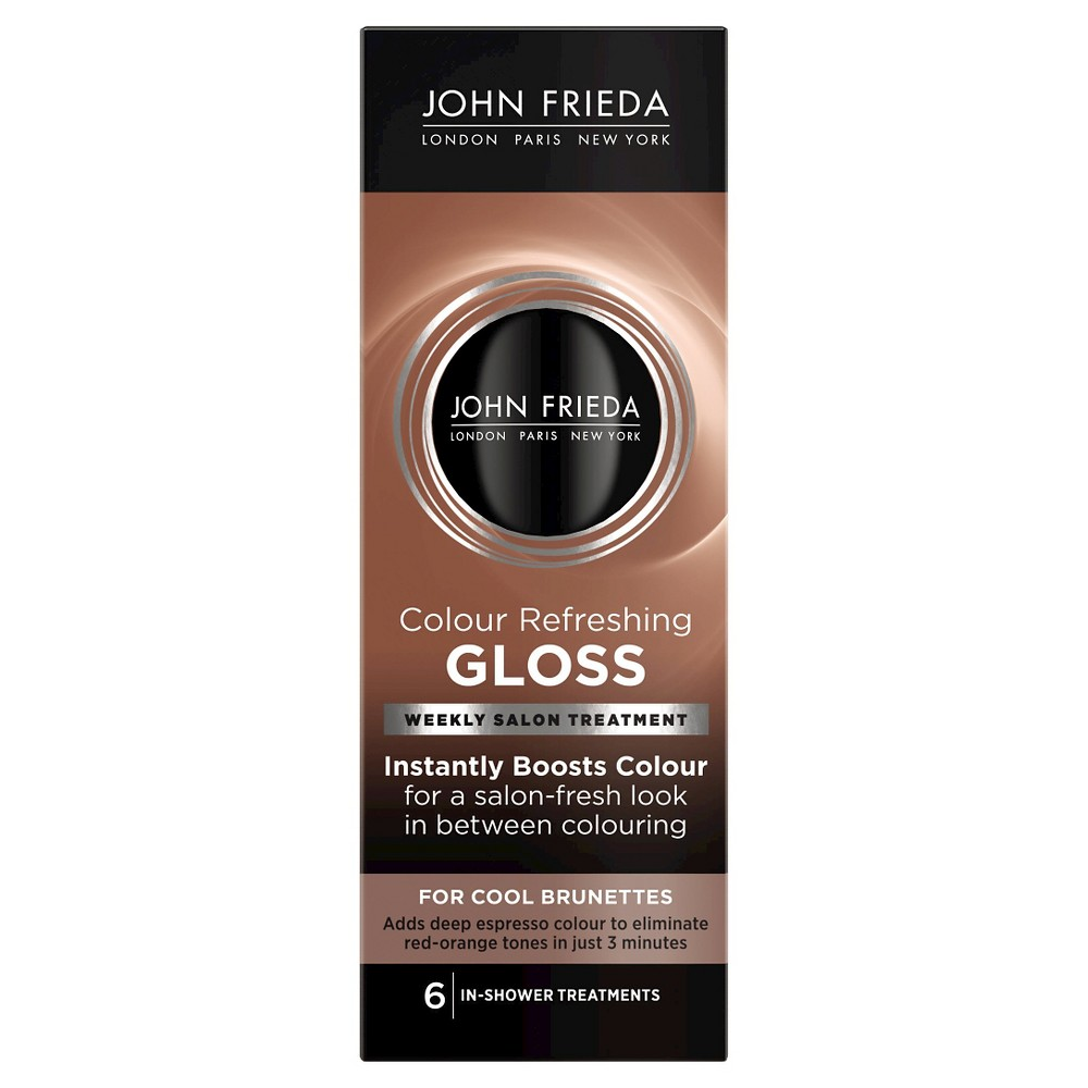 Image of John Frieda Color Refreshing Gloss for Cool Brunettes - 6oz