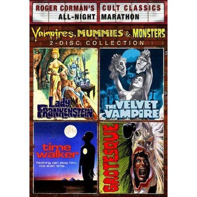 Vampires, Mummies & Monsters Collection (DVD)(2011)