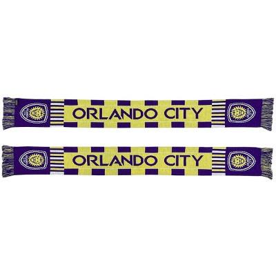 MLS Orlando City SC Wordmark Bars Scarf