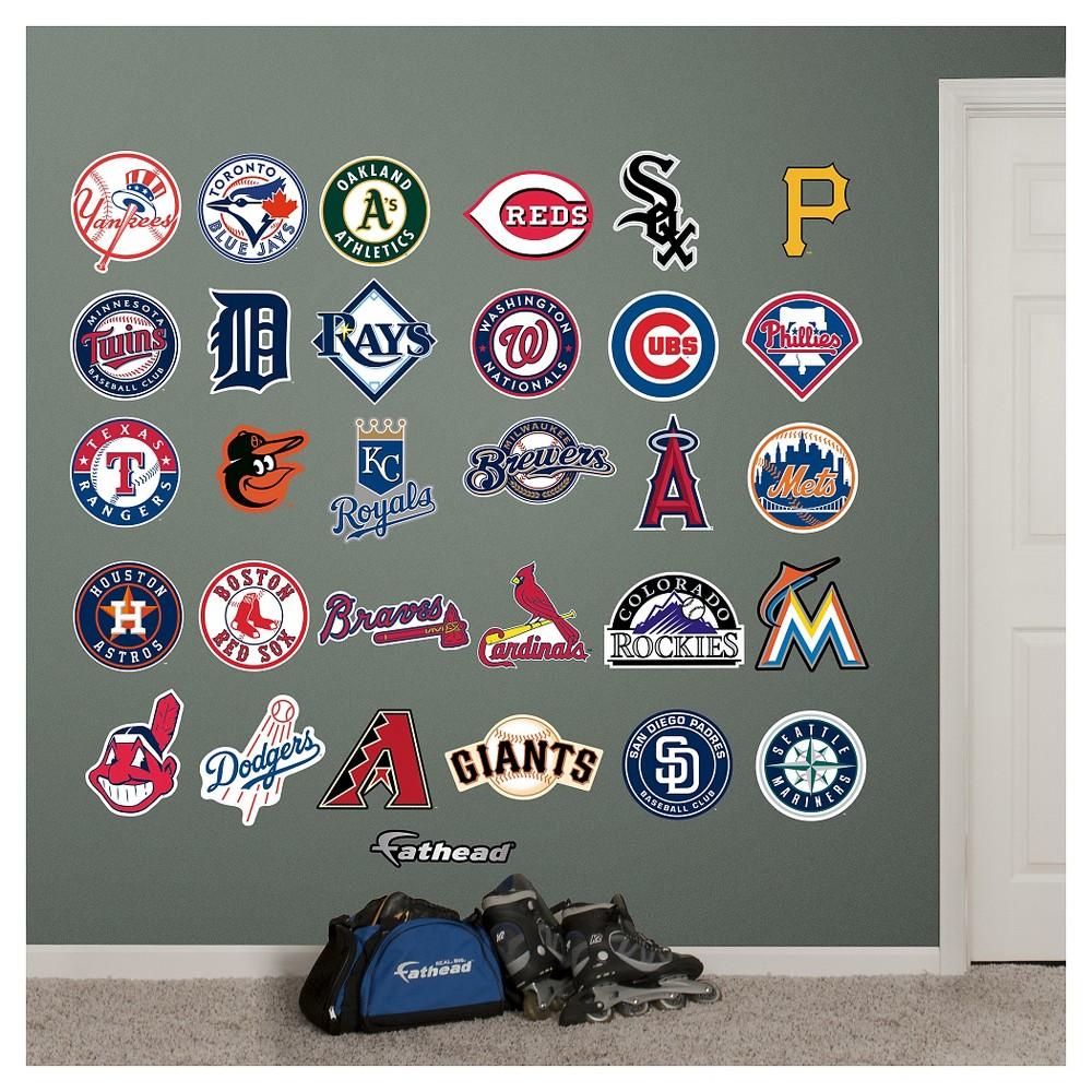 MLB Fathead All Logo Wall Decal Set