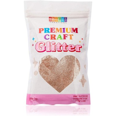 Bright Creations Gold Powder Glitter for Resin, Nail Art, Slime, Art and Crafts Supplies (7 oz)