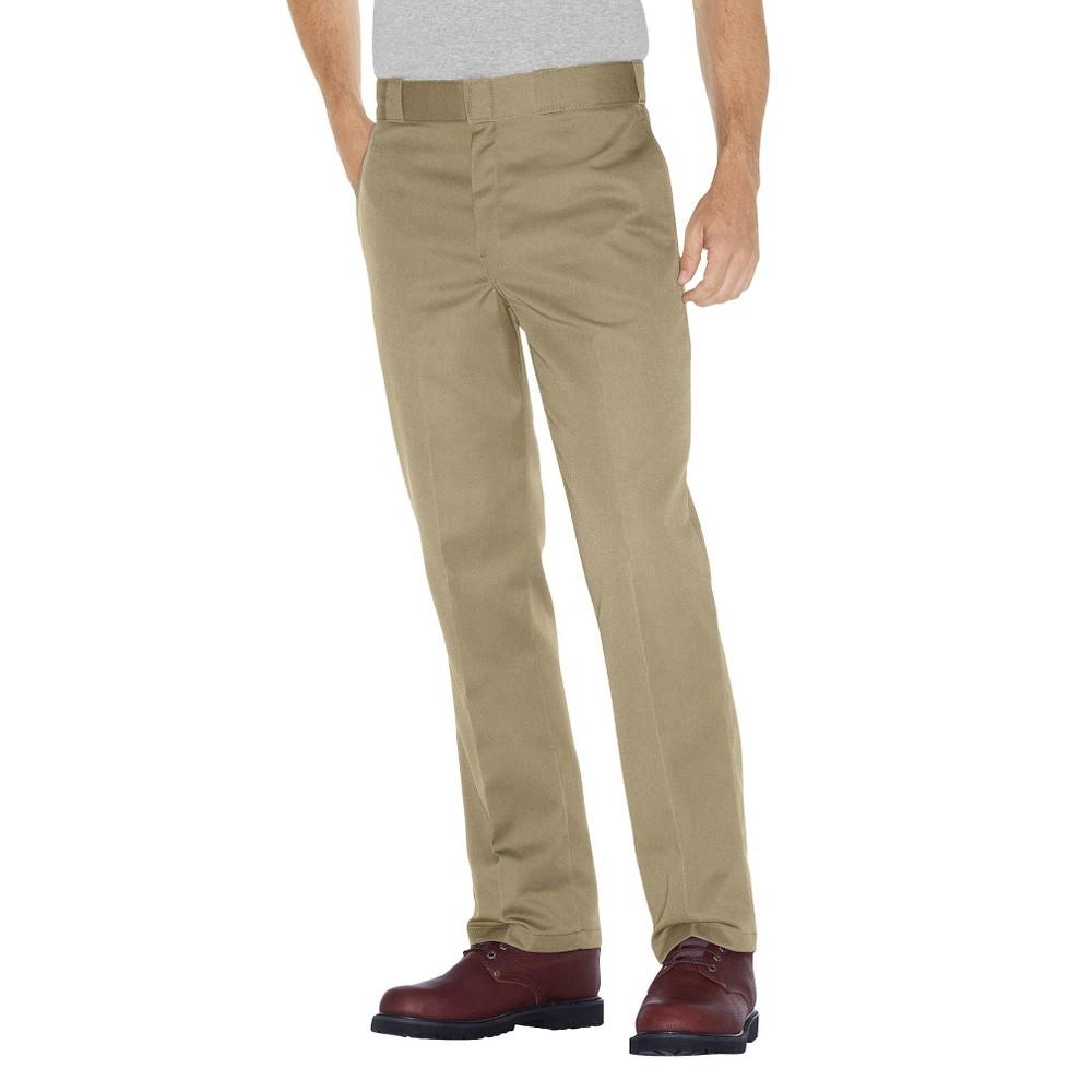 Dickies - Men's Big & Tall Original Fit 874 Twill Pants Khaki (Green) 46x32